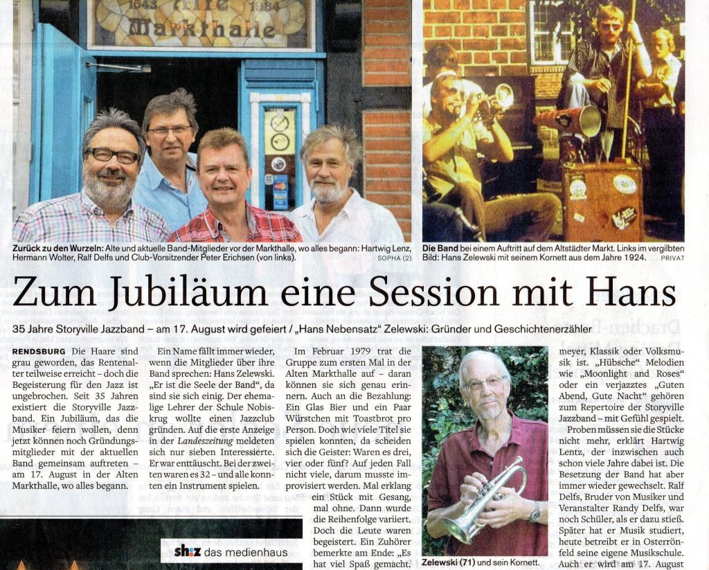 Session mit Hans LZ 26.07.14
